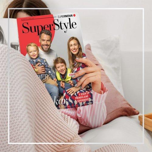 Izšla je nova jesenska številka SuperStyle-a! 🥰  Prelistaj najnovejšo izdajo, v kateri najdeš 🍂 nasvete za modne...